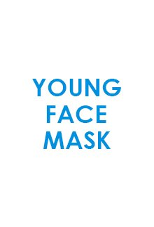 Young face mask