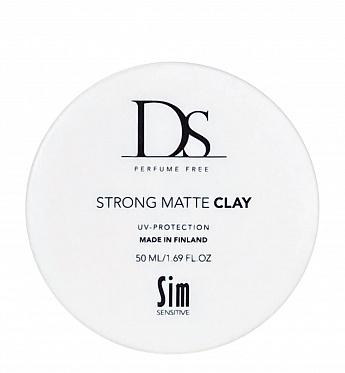 DS Strong Matte Clay воск для укладки волос сильной фиксации 50 мл