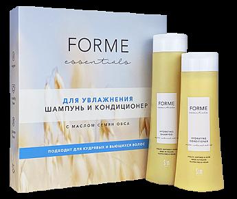 Подарочный набор Forme Essentials для увлажнения волос с маслом семян овса