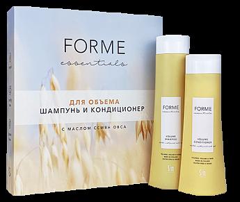 Подарочный набор Forme Essentials для объема волос с маслом семян овса