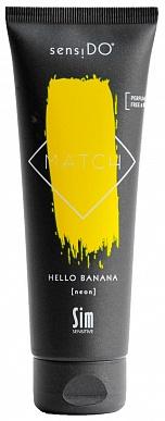 SensiDO Match Hello Banana (neon) краситель прямого действия желтый неоновы125мл